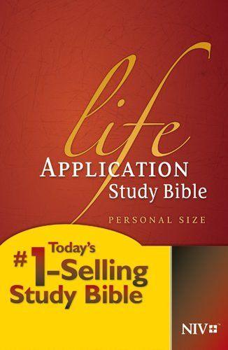 Life Application Study Bible NIV, Personal Size Life