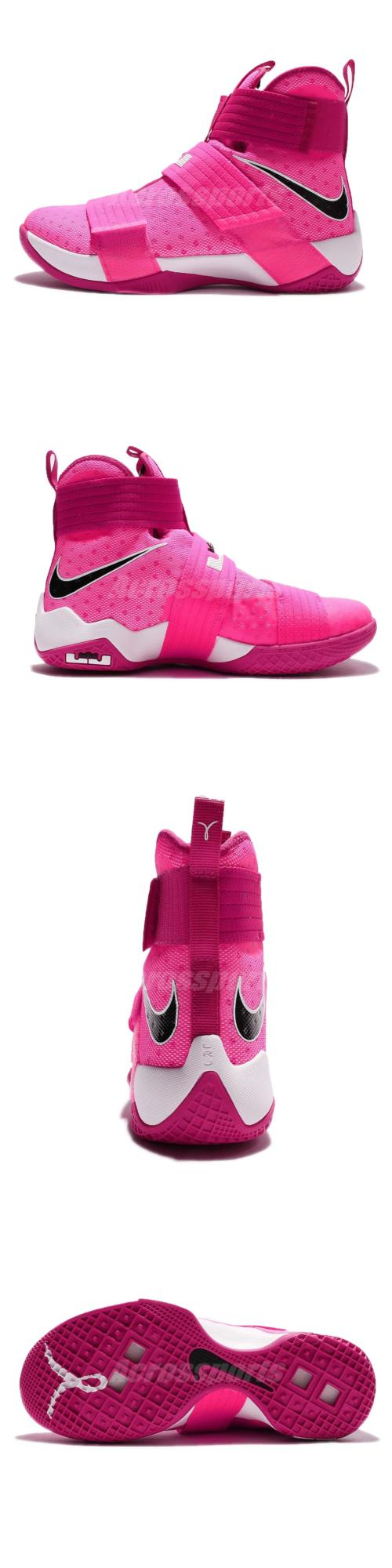 1ecd1dfe809 Basketball  Nike Lebron Soldier 10 Ep X James Kay Yow Breast Cancer Basketball  844375-606 BUY IT NOW ONLY   159.0