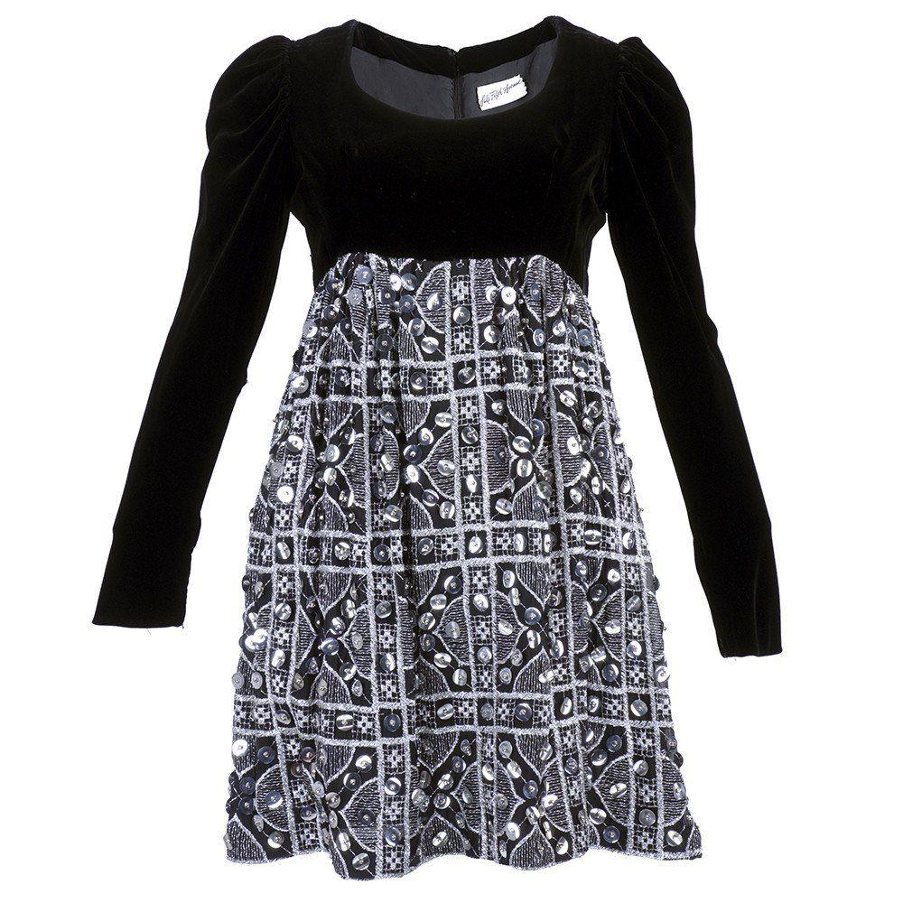 Vintage 60s Velvet Babydoll Dress – THE WAY WE WORE