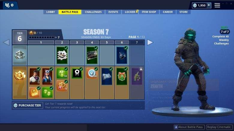 Every Season 7 Battle Pass Skin in Fortnite | Gaming News