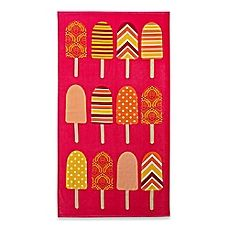 Image Of Popsicle Beach Towel Beach Towel Beach Towels Towel