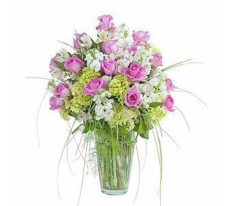 Pink and white elegance vase in bonita springs fl heaven scent pink and white elegance vase in bonita springs fl heaven scent flowers inc mightylinksfo