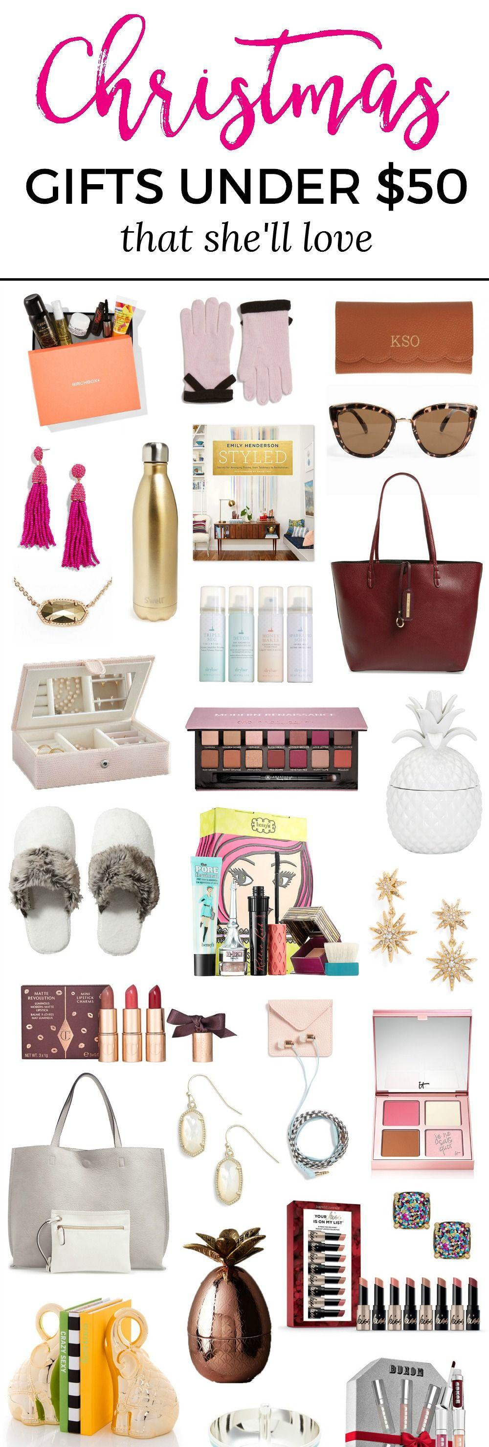 The best christmas gift ideas for women under 50 via
