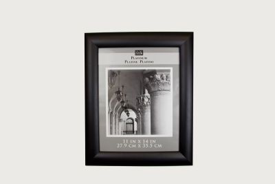 11x14 Black Domed Profile Wall Frame