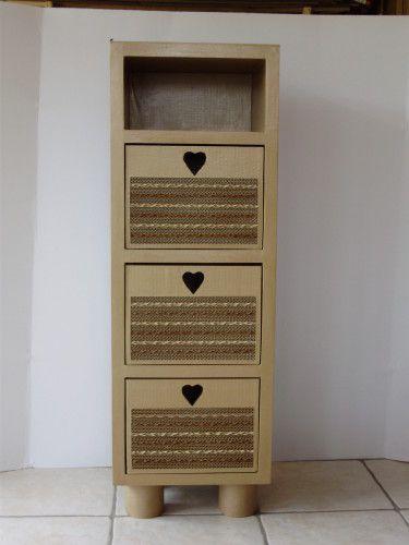 Las ideas para reciclar cartón nunca dejan de sorprendernos Cartón - muebles reciclados