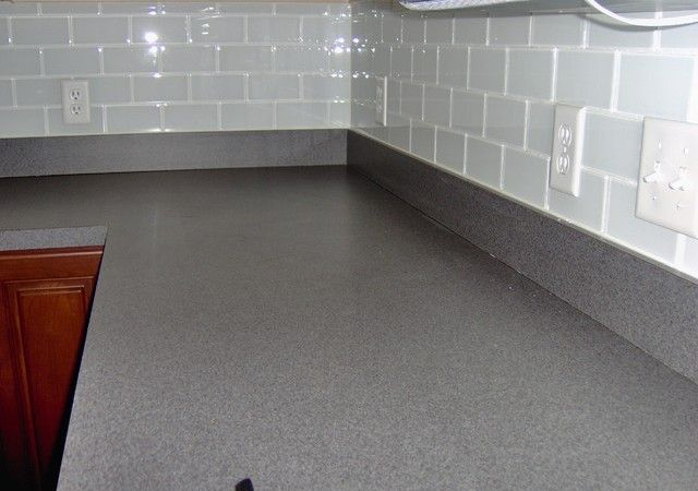 Clear Gl Subway Tile Backsplash