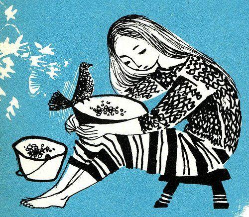 illustration / vintage children's books