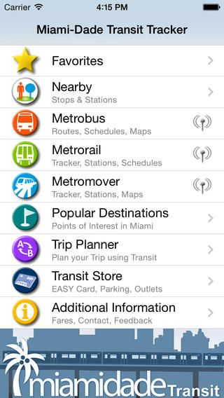 Miami Dade Transit Tracker By Miami Dade County With Images