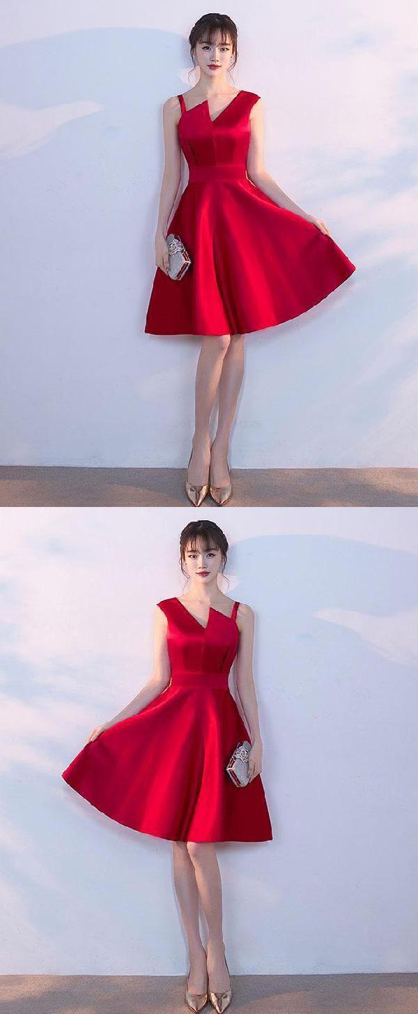 Short prom dresses simple prom dresses burgundy prom dresses
