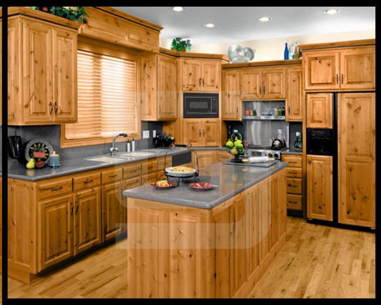 Prefabricadas de madera china gabinete de cocina modular - Disenos para muebles de madera ...