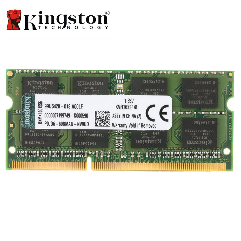 Kingston Veritable Original Kvr Portable Ram 1600 Mhz 4 Gb 8 Gb