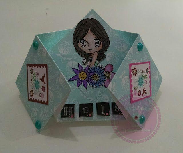 Bellos Recuerdos: Tarjeta Doble Diamante