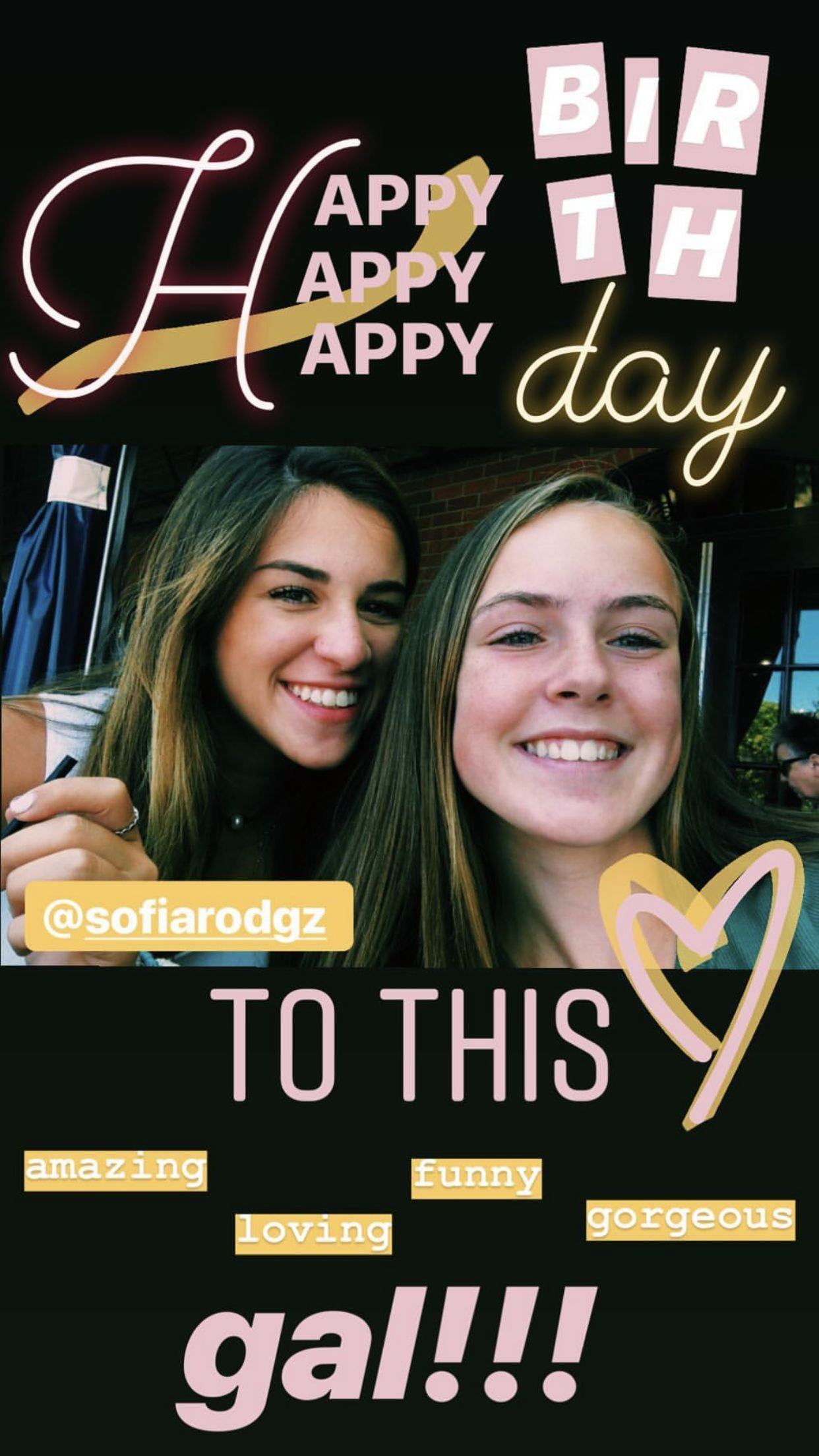 Pin by Tanu Detroja on birthday in 2020 Instagram story
