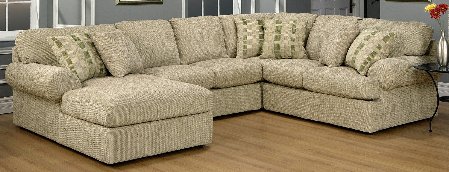 Trudy Upholstery 4 Pc Sectional Leon S 1 599 00 In