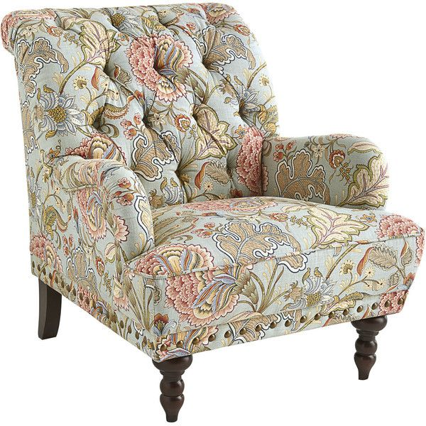 pier 1 accent chairs the chronicles of narnia silver chair wiki imports chas armchair 450 liked on polyvore featuring home furniture blue tufted