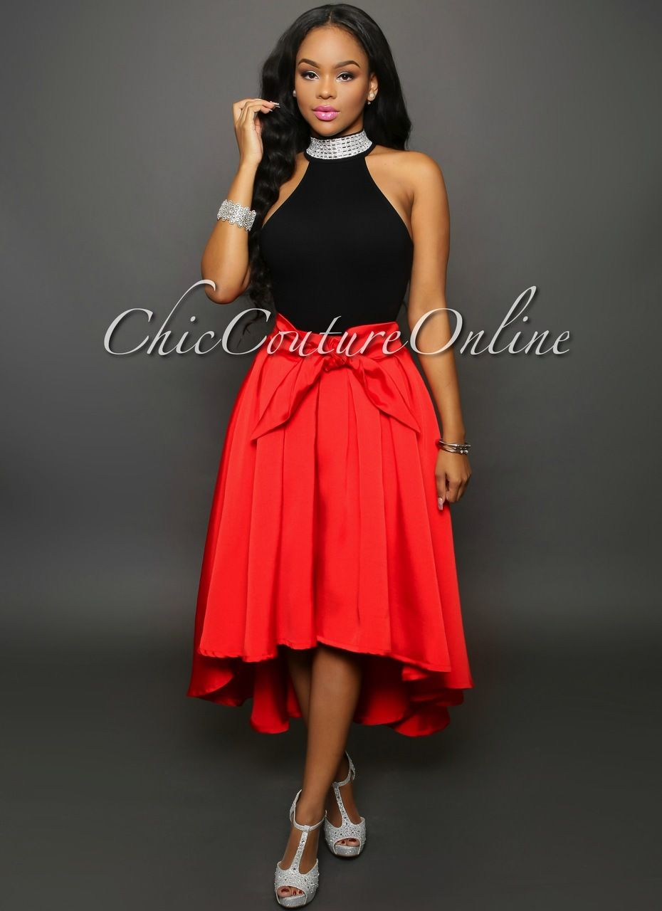 Chic Couture Online - Emmy Red High-Low Skirt,  (http://www.chiccoutureonline.com/emmy-red-high-low-skirt/)