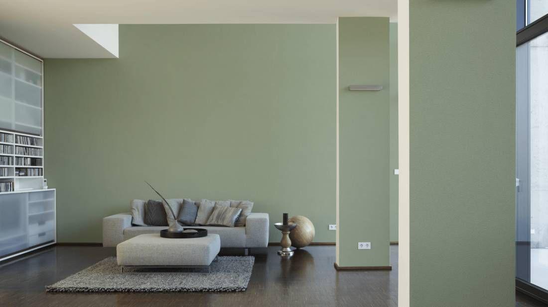 Marie hat diese grüne Tapete in ihrem Wohnzimmer - du ...
