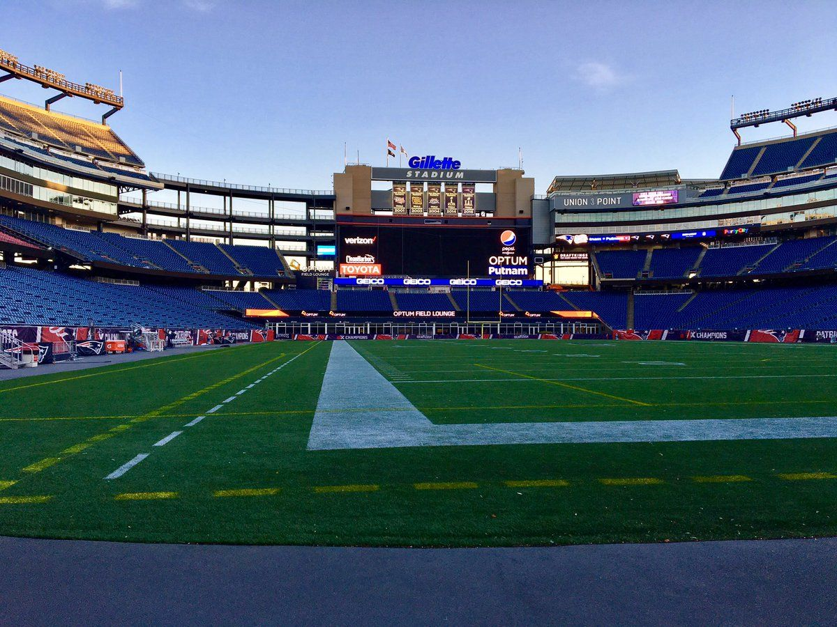 Gillette Gillette Stadium New England Patriots Soccer Field