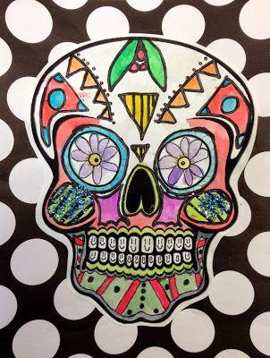 Artisan Des Arts Day Of The Dead Skulls