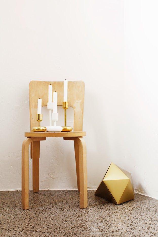 Iittala Christmas Home. Iittala + Varpunen collaboration. Nappula candleholders.