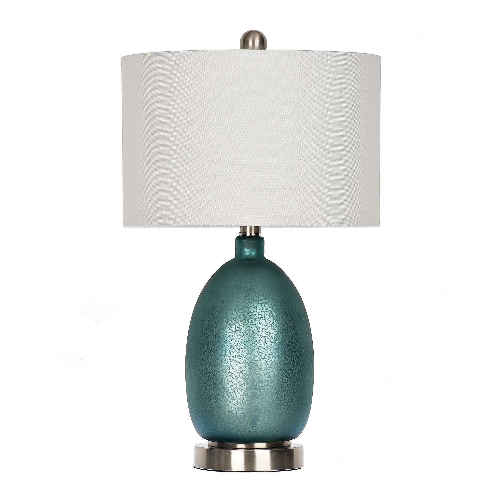 Rich Blue Mercury Glass Table Lamp In 2018 Just Beachy Pinterest