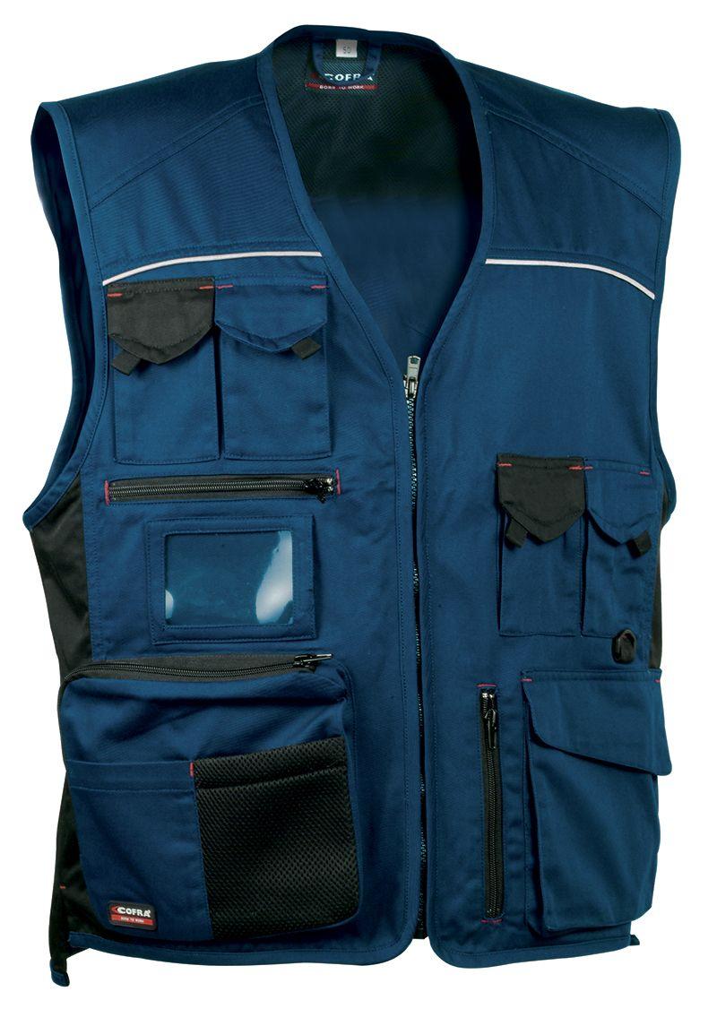 48dc5c7beeb Chaleco COFRA  Expert . 60% algodón - 40% poliéster. Azul marino   negro
