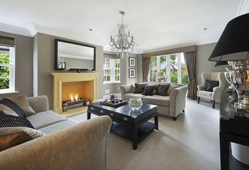 Room · Image Result For Neutral Grey Living ...