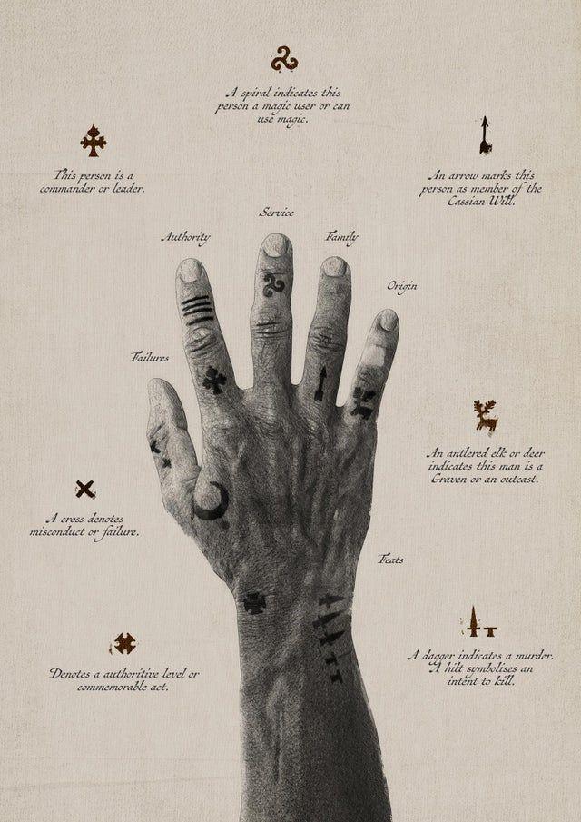 The Criminal Tattoos of Asmaria