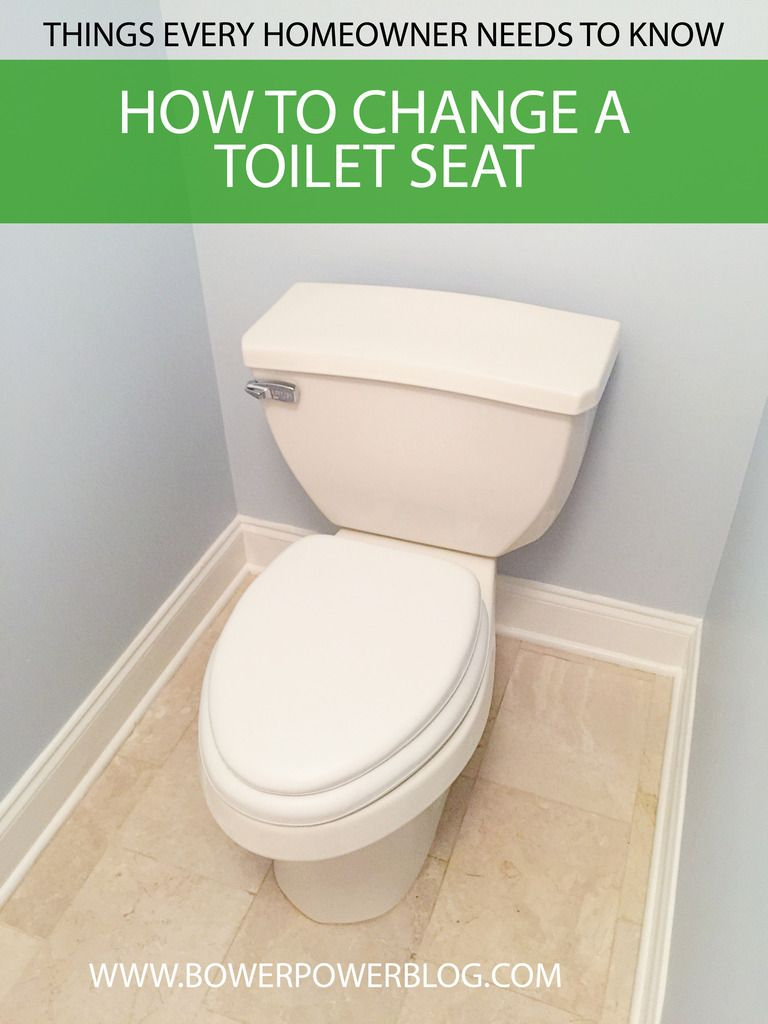 How To Change A Toilet Seat Toilet Happy House Home Remodeling