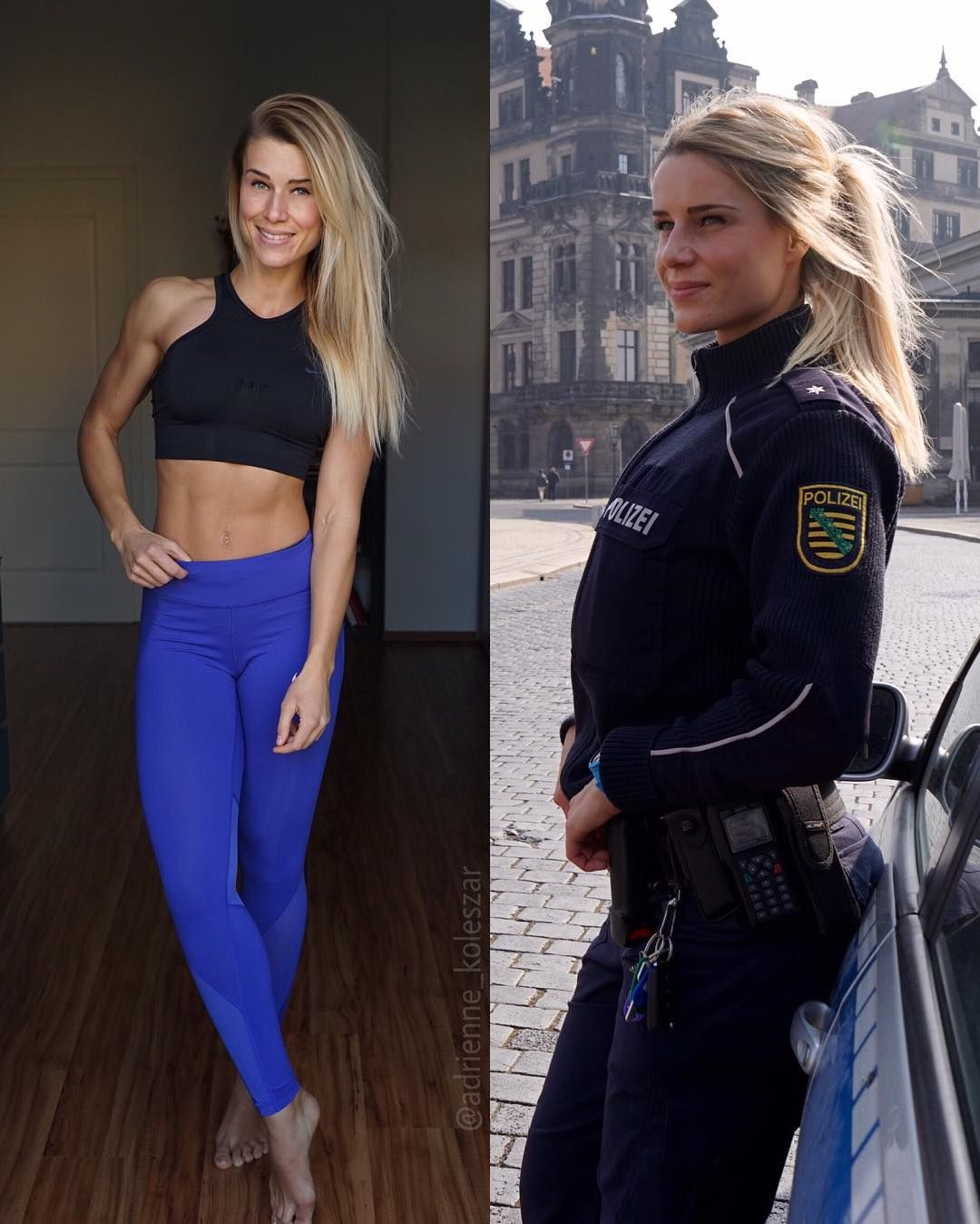 16 Photos Of World S Hottest Police Officer From Germany Reckon Talk Police Women Female Cop Army Women