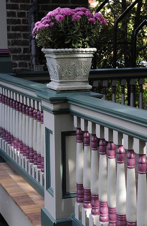 Victorian Porch, Porch Railing