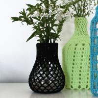 Fredag DIY: Hæklede Vase Dækker ved Gaarn magasin