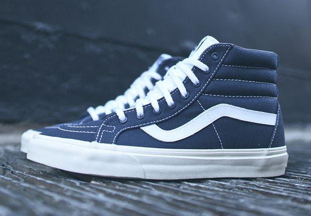 vans high sk8 blau