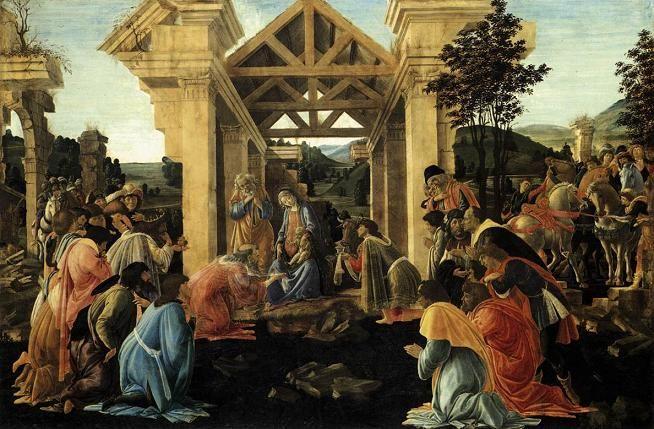 Resultado da imagem por pinturas clássicas do natal