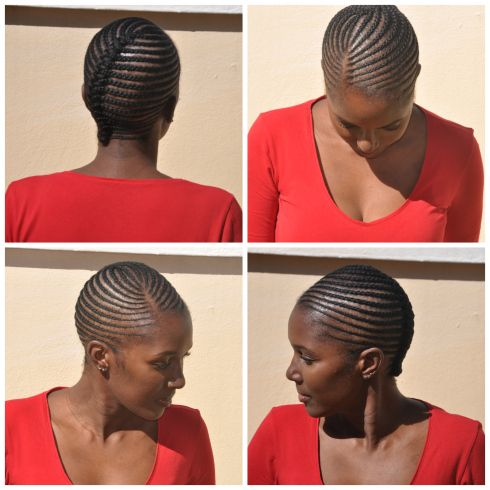 Plaits Lines No Extension Simple Plaits Hairstyles Cornrow Hairstyles Cornrows Natural Hair