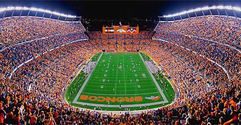 2017 Denver Broncos Football Schedule Broncos stadium