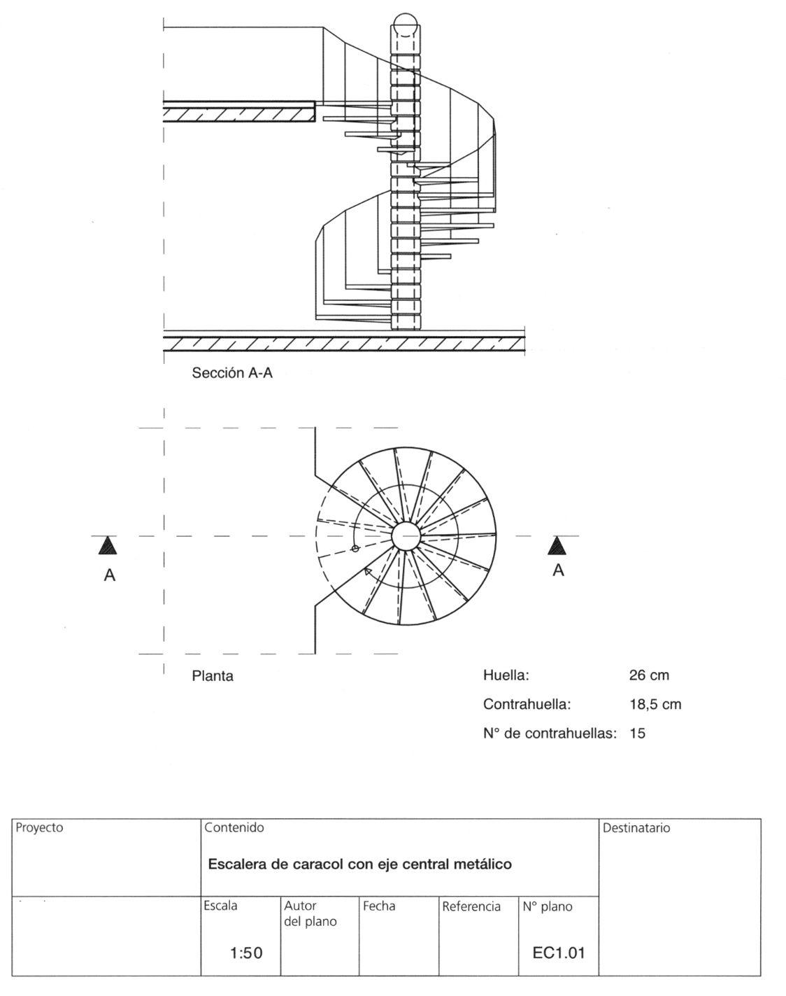 M Rmoles Areniscas Calizas Pizarras Yesos Escayolas Cementos  ~ Dimensiones Escalera De Caracol