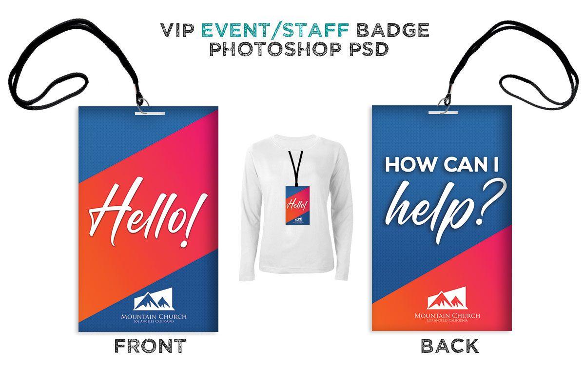 Welcome Volunteer Staff Badge Digital316 Net Christian Graphic Design Volunteer Badge Badge
