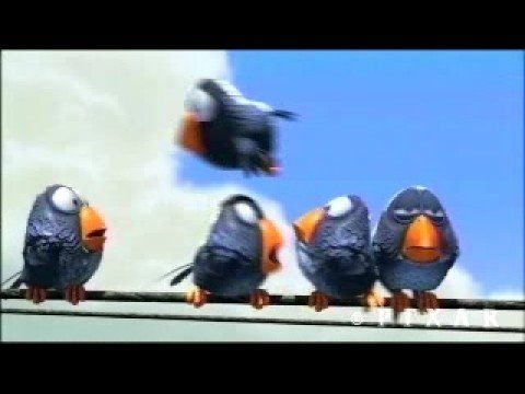Pixar Short: For the Birds - Use this to reinforce the concept of Cause & Effect (and the difference between affect and effect!)