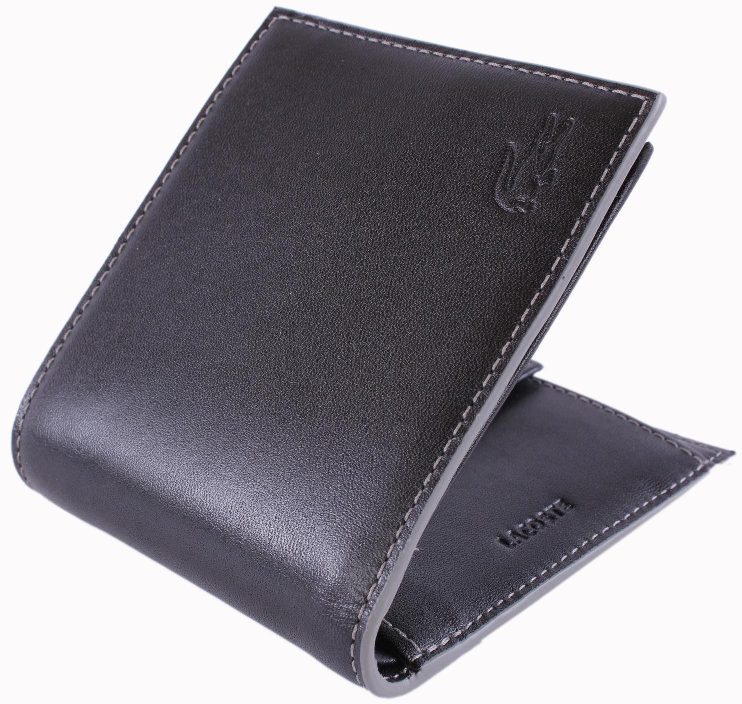 e44089fa5 Lacoste Wallet - Black Small Bifold Wallet  Lacoste  Mens  Wallet ...