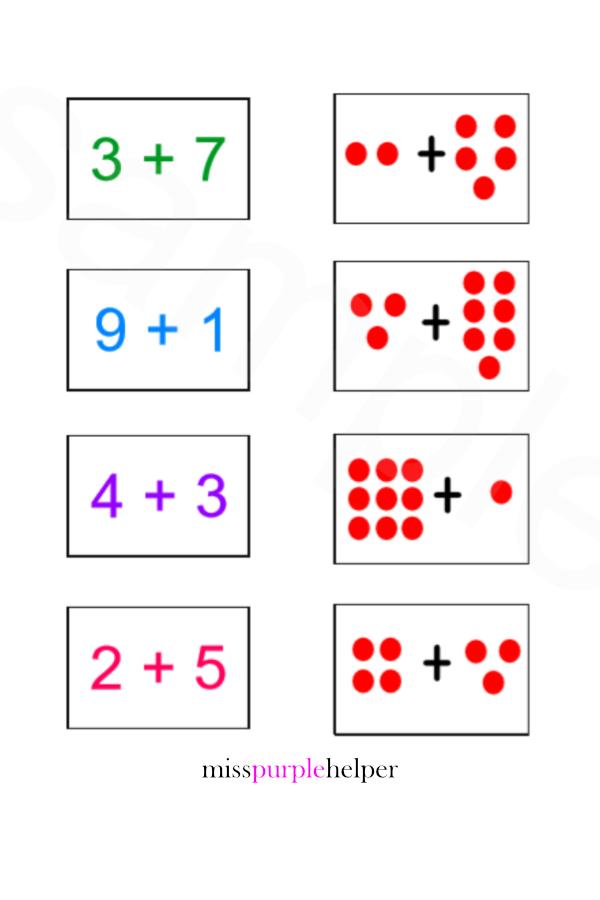 Maths Addition Worksheets For Pre Schoolers Maths Worksheets For Primary School Teaching Reso Math Addition Worksheets Preschool Math Learning Math Worksheet