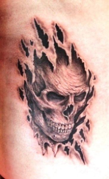 Skull And Scorpion Tattoo Navigation Realistic Scorpion Tattoo