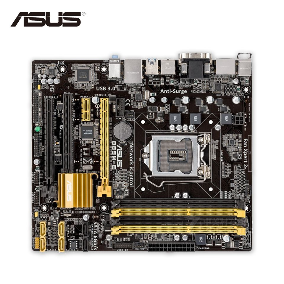Original New Asus B85m E Desktop Motherboard B85 Socket Lga 1150