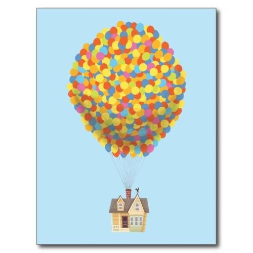 (Balloon House from the Disney Pixar UP Movie Postcard) #Animation #Carl #CarlFredricksen #CharlesMuntz #Charlie #Disney #DisneyPixar #DisneyPixarUp #DisneyUp #Dog #Dug #DugDog #Ellie #Film #GrapeSoda #Muntz #Pixar #PixarUp #Russell #Up #UpBalloons #UpHouseBalloons #UpMovie #WildernessExplorers is available on Famous Characters Store http://ift.tt/2aBJeml