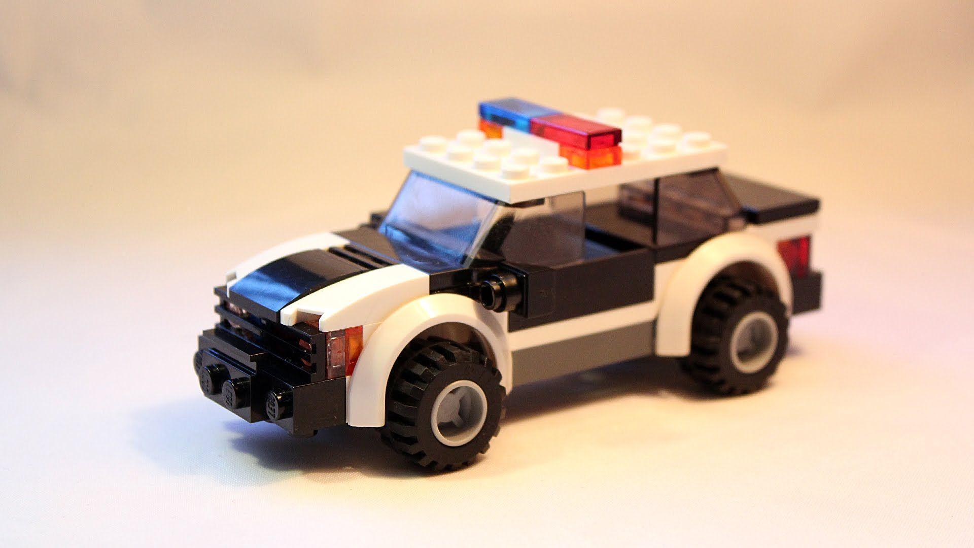 Custom Lego Moc Police Patrol Car Building Instructions Lego Police Lego Cars Lego