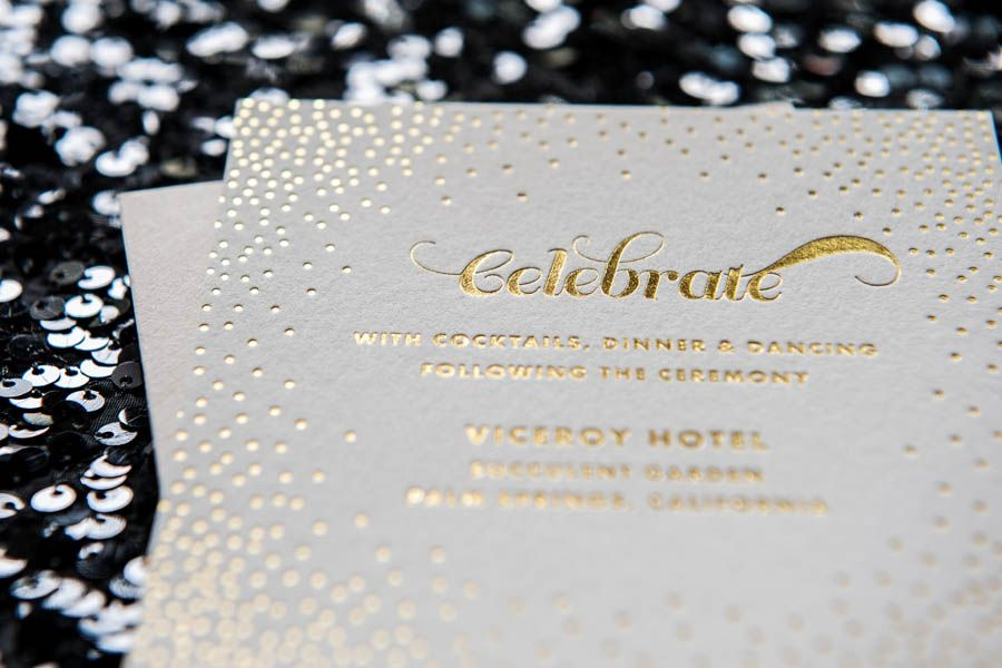 foiled invitations stella foiled wedding invitation foil gold