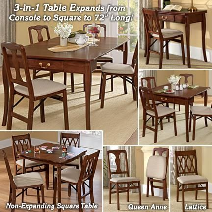 fresh finds furniture. 3-in-1 Expanding Dining Table From Fresh Finds Furniture