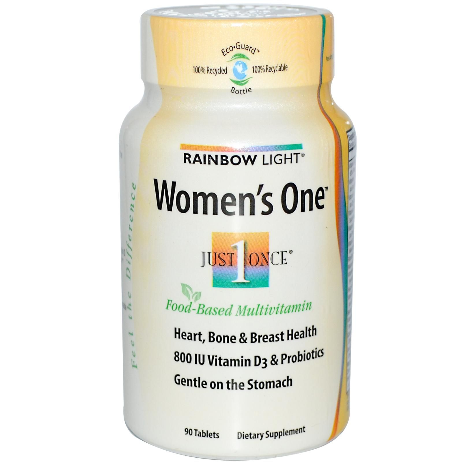 Rainbow Light Women S One 90 Tablets Health Products