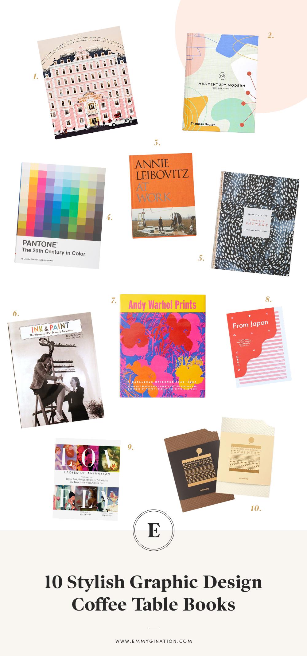 10 Stylish Graphic Design Coffee Table Books Emmygination Coffee Table Design Painted Coffee Tables Graphic Design Books