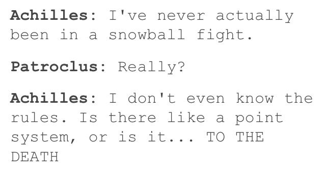 Oh Achilles